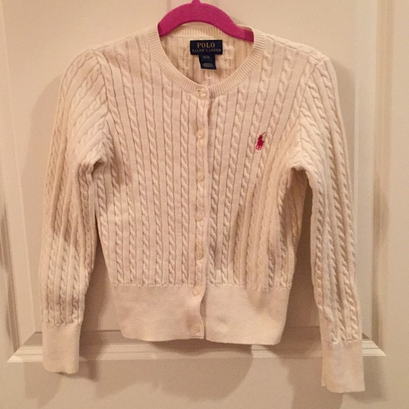 Polo by Ralph Lauren Other - Polo Ralph Lauren Cream Cardigan